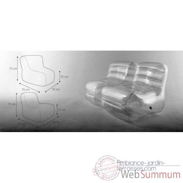 Fauteuil fugu ying yang dans chaise design tendance sur for Meuble ying yang