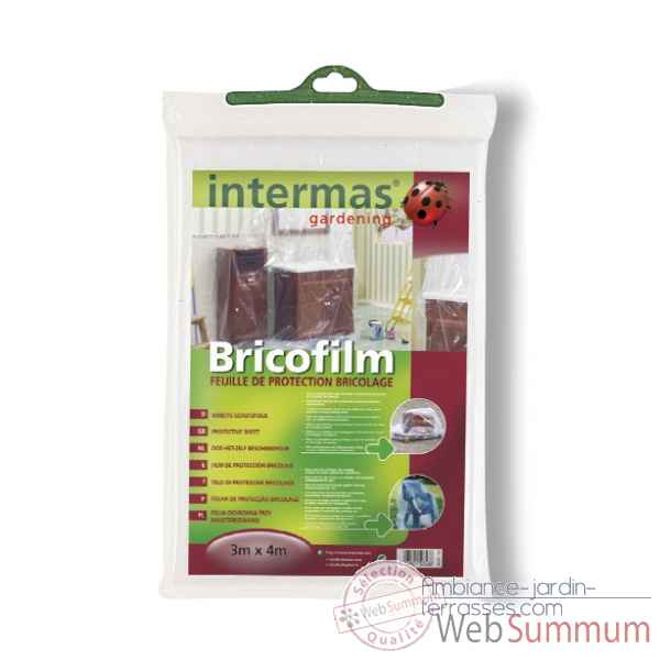 Bricofilm (feuille de protection bricolage) Intermas 150348