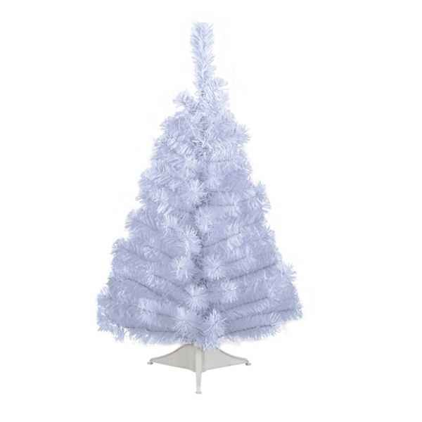 Mini sapin blanc 60 cm Everlands -NF -682561