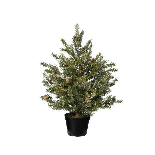 Mini sapin taxus finition gel 30 cm Everlands -NF -685075