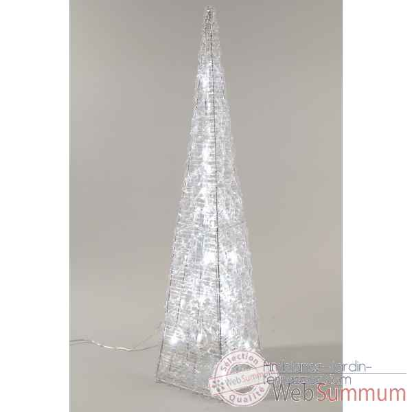 Pyramide acrylique led Kaemingk -491954