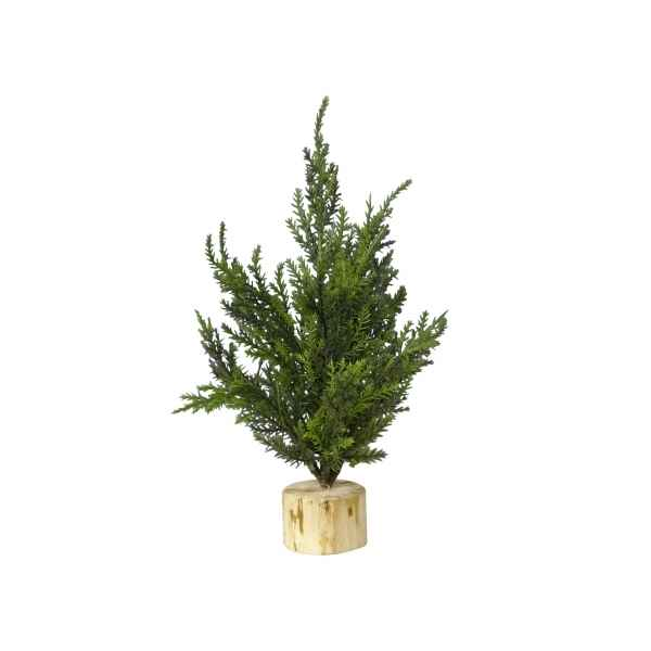 Sapin conifere de table 20 cm Everlands -NF -685090