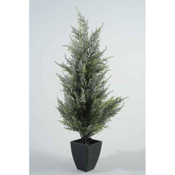 Sapin conifere neige table 20 cm Everlands -NF -685105