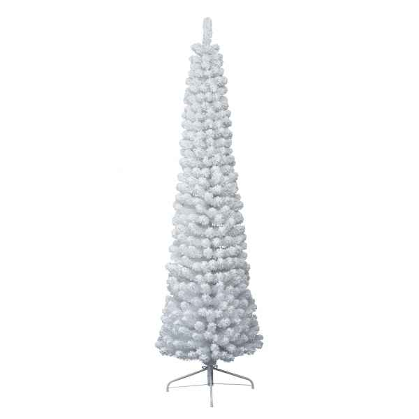 Sapin enneige white pencil 240 cm Everlands -NF -688683
