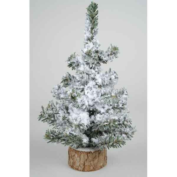 Sapin table enneige toronto 20 cm Everlands -NF -683627