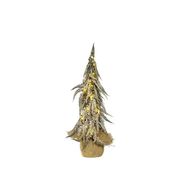Sapin de table avec neige Everlands -NF -673100