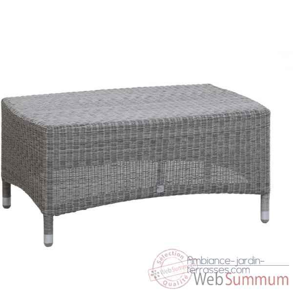 Table basse vera r sine galet kok 520h de meuble design for Jardin 88 doris vera hermoza