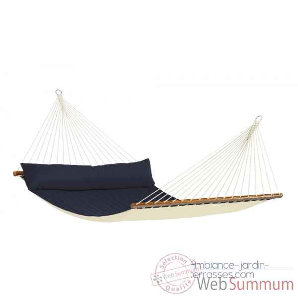 Hamac a barres king size alabama navy blue La Siesta -NQR14-31