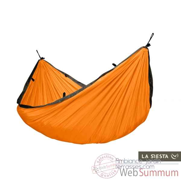 Hamac de voyage simple colibri orange La Siesta -CLH15-5
