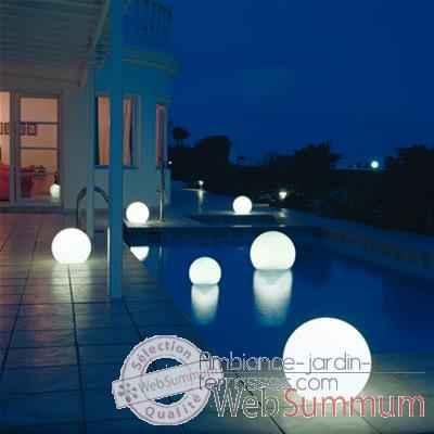 lampe demi lune blanche ronde sur batterie bmfl750140. Black Bedroom Furniture Sets. Home Design Ideas
