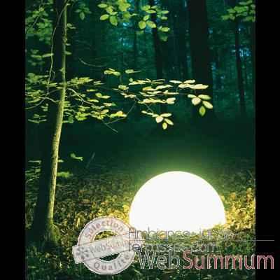 lampe ronde socle visser blanche moonlight magr350015. Black Bedroom Furniture Sets. Home Design Ideas