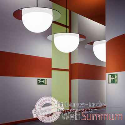 Lampe ronde a suspendre granite Moonlight -mlhslgl350
