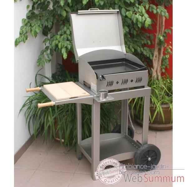 kitchen inox 3 feux s meuble inox avec couvercle le. Black Bedroom Furniture Sets. Home Design Ideas