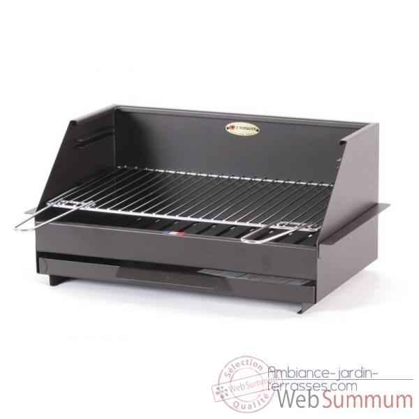 Barbecues poser ou encastrer dans barbecues sur ambiance for Pare etincelle pour foyer exterieur