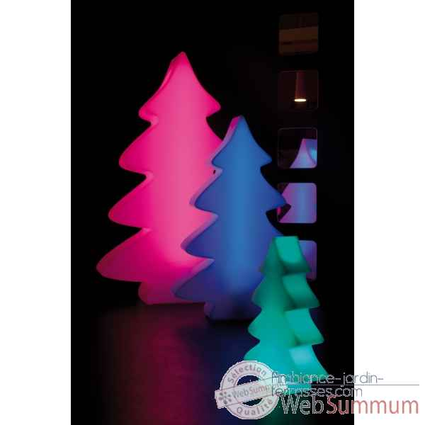 Sapin lumineux led micro 40 cm lumenio 17061 de sapin de no l artificiel - Sapin design lumineux ...