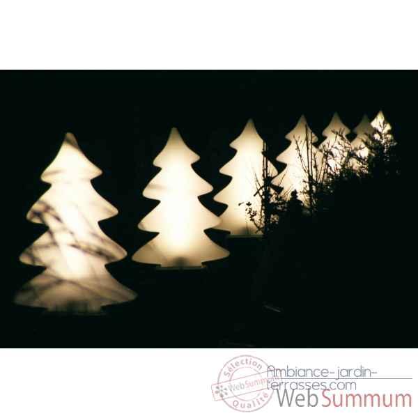 sapin lumineux mini blanc chaleureux lumenio 16843 de sapin de no l artificiel. Black Bedroom Furniture Sets. Home Design Ideas