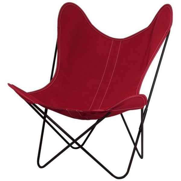 Fauteuil aa butterfly framboise AA new design