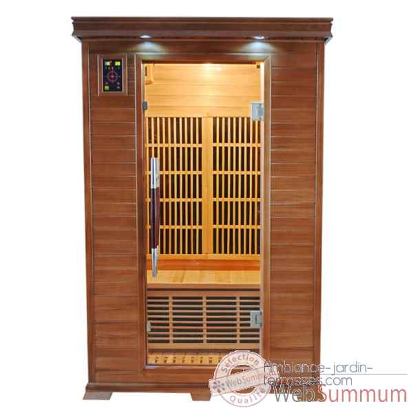 Sauna infra rouge  luxe - 2 places Poolstar -SN-LUXE-2