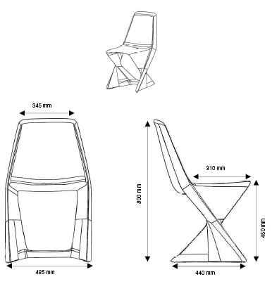 Dimension Chaise Classique