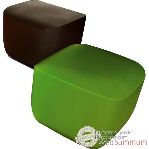 pouf table d 39 appoint design alain gilles qui est paul dans table jardin. Black Bedroom Furniture Sets. Home Design Ideas