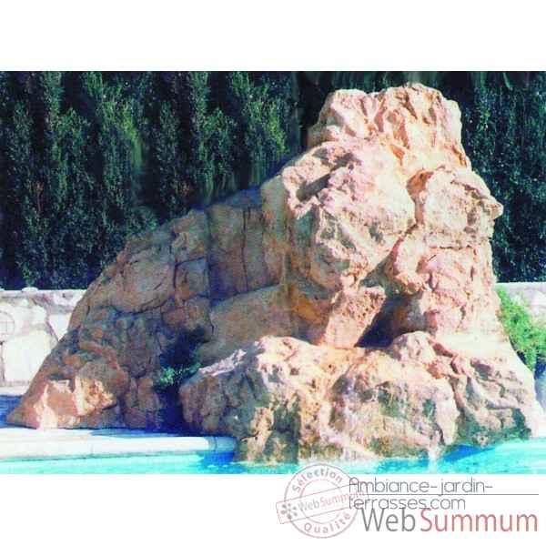 D coration piscine rochers diffusion sur ambiance jardin for Decor rocher piscine