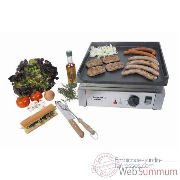 Planche Barbecue electrique  - Roller Grill R.PSE400