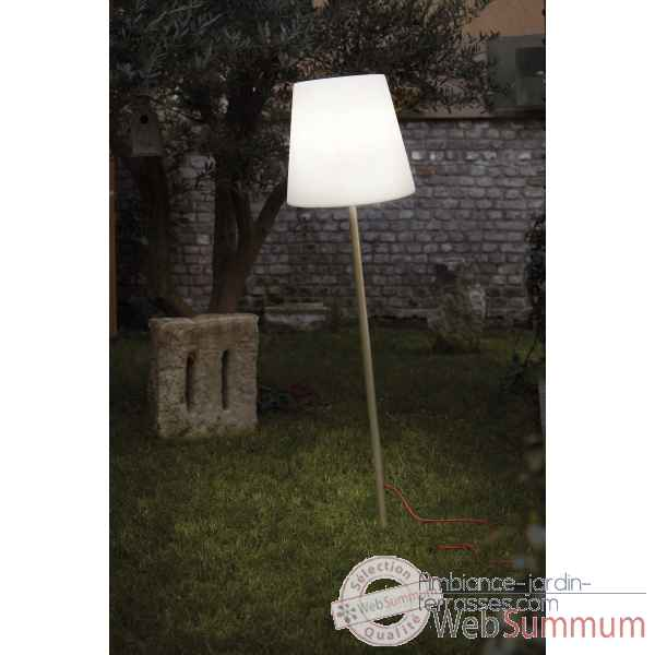 lampe design design fiaccola ali baba rouge lampe ip55 dans lampe de jardin jardin. Black Bedroom Furniture Sets. Home Design Ideas