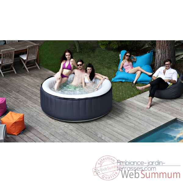spa gonflable dans spa sauna piscine loisirs sur ambiance jardin terrasses. Black Bedroom Furniture Sets. Home Design Ideas