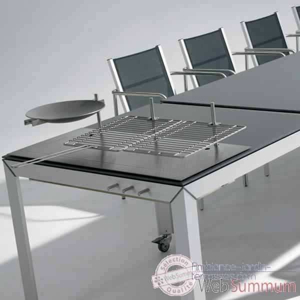 Table barbecue ExTempore Still Extremis Carree -STTBQ