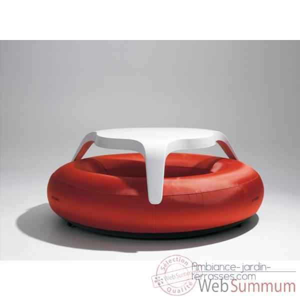 Table donuts extremis avec assise rouge dtwbr de mobilier jardin - Mobilier jardin rouge besancon ...