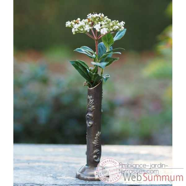 Petite vase a fleurs Thermobrass -FV0378BRW-B