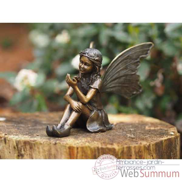 Sculpture en bronze thermobrass -an1252br-b