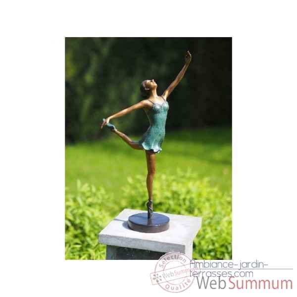 Sculpture en bronze thermobrass -an1264br-v