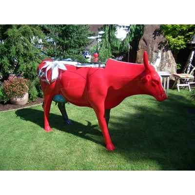 Vache Swisslike Table Cow Art in the City - 80905 de Décoration Jardin