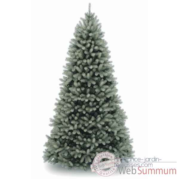 Sapin poly downswept douglas fir blue hook on h243cm Van der Gucht -31PEDB80