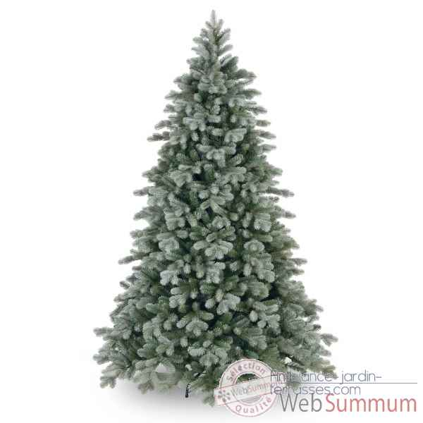 Sapin poly frosted colorado spruce hook on h152cm Van der Gucht -31PECSF50