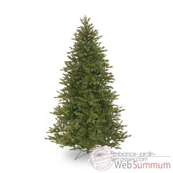 Sapin poly yukon fir hook on h122cm Van der Gucht -31PEYF40