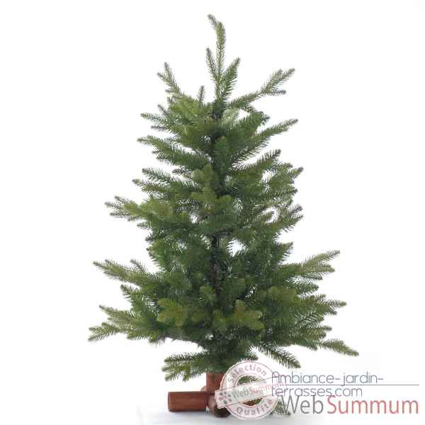 Sapin tacoma table pe tree wooden base h60cm Van der Gucht -31TAC60