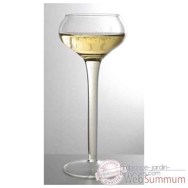 2 Coupes Champagne SiloDesign 23 cm -Champ